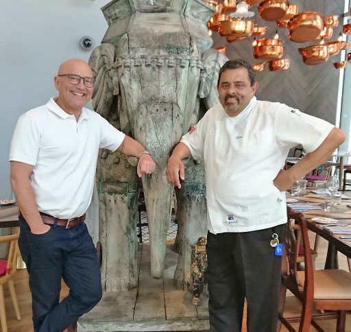 Gregg Wallace and Cyrus Todiwala