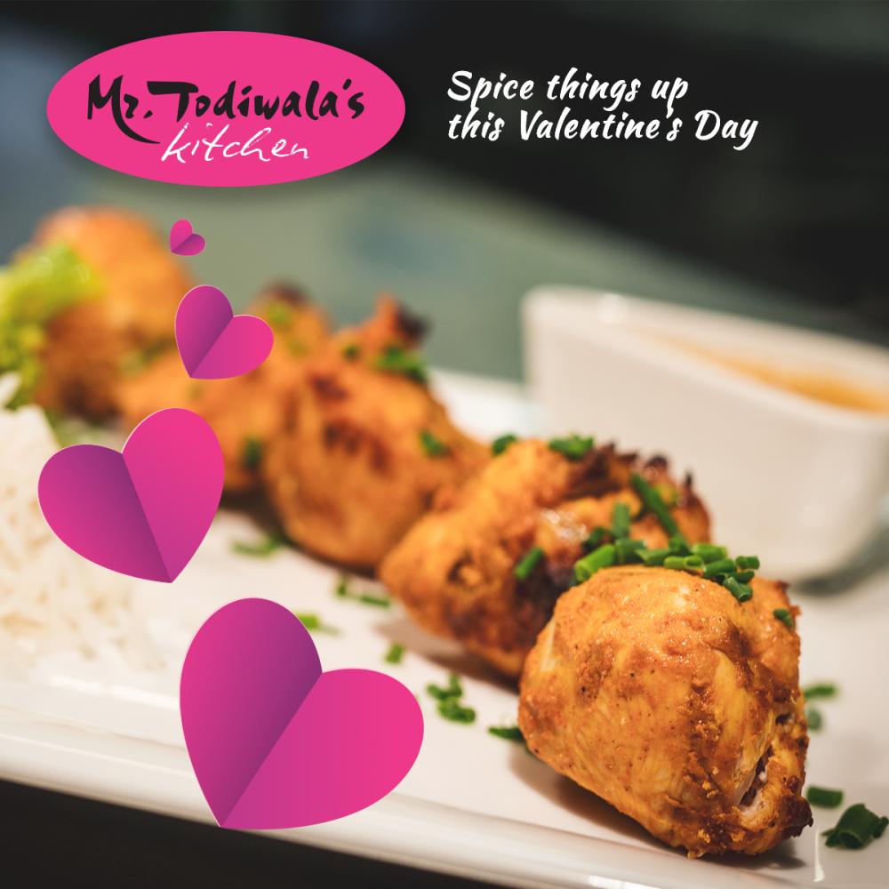 Valentine's at Mr Todiwala's Kitchen